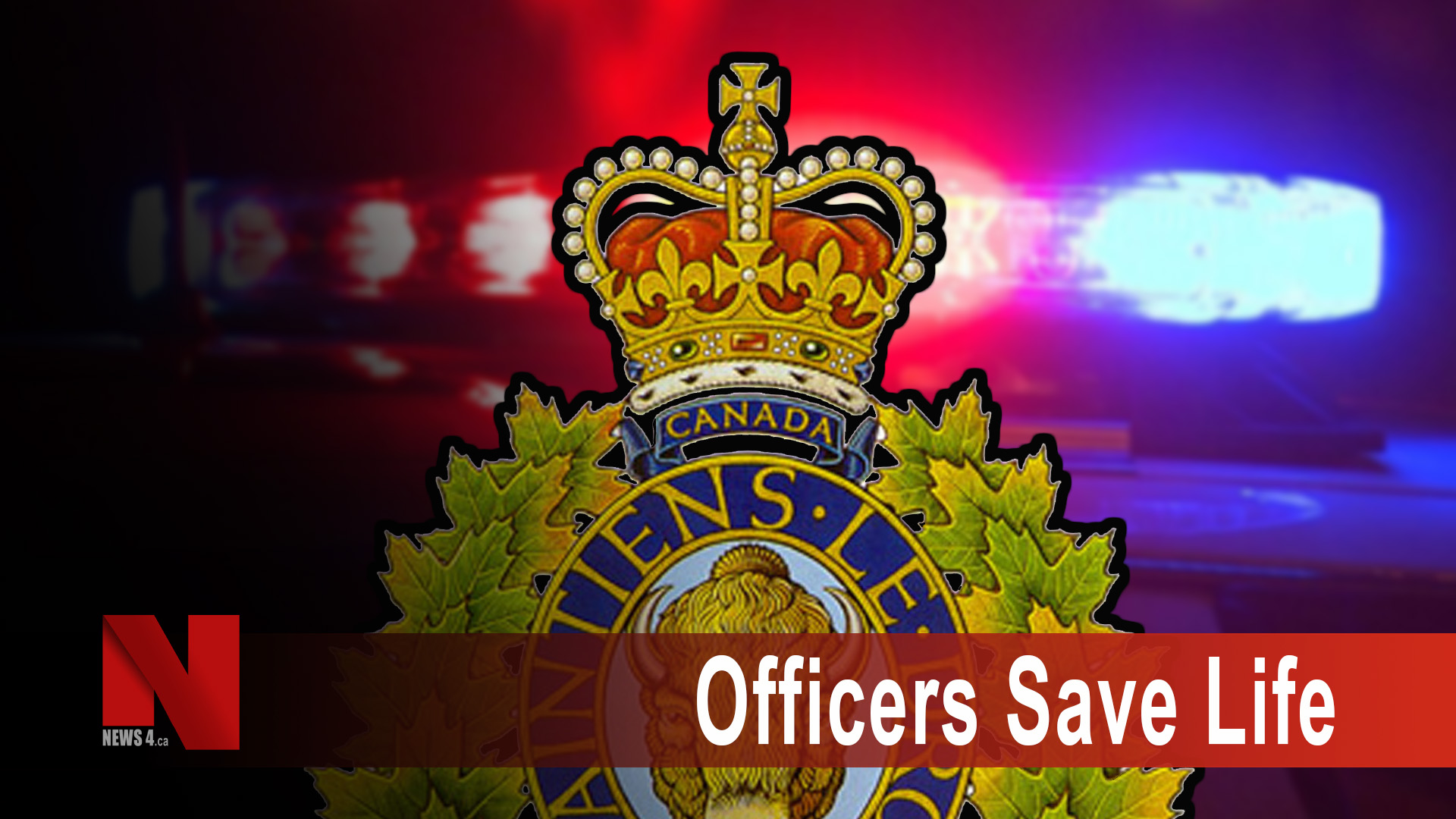 Officers Save Life