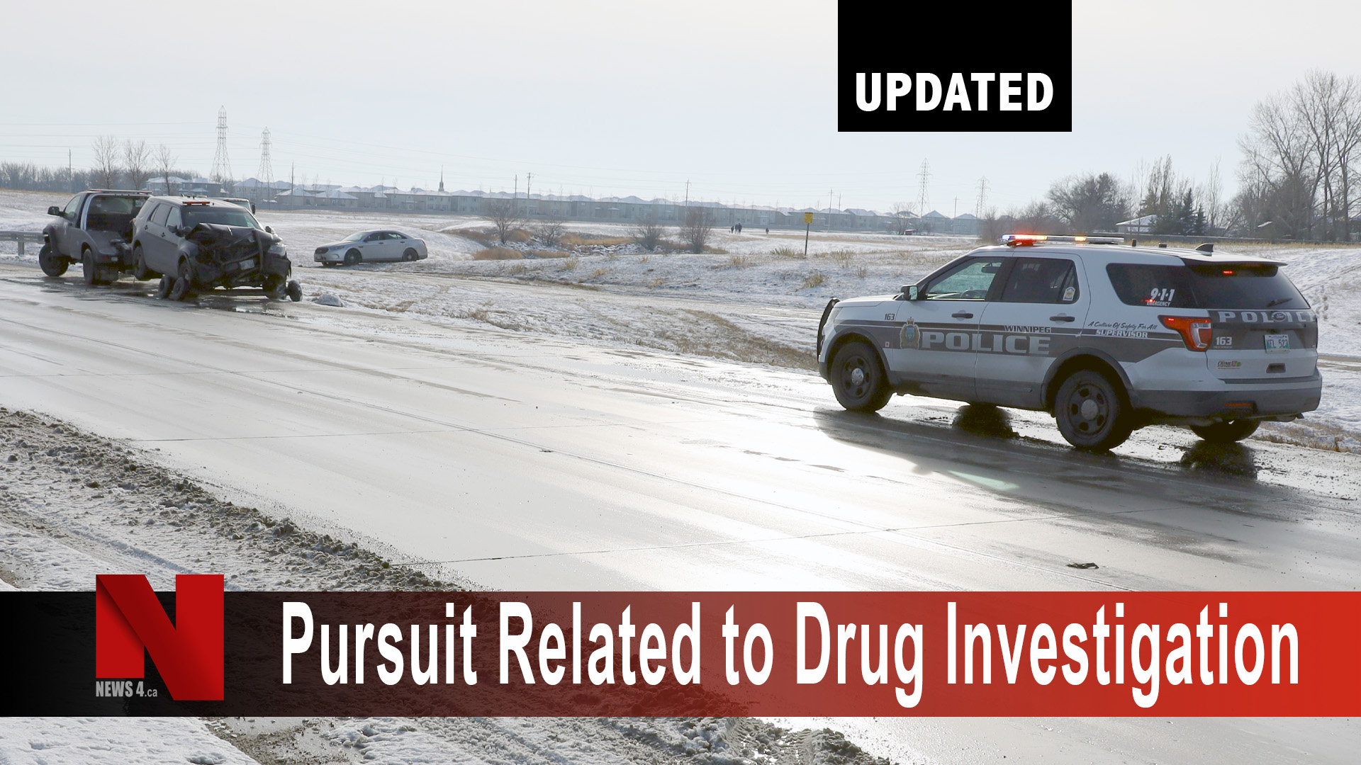 Pursuit related to drug investigation