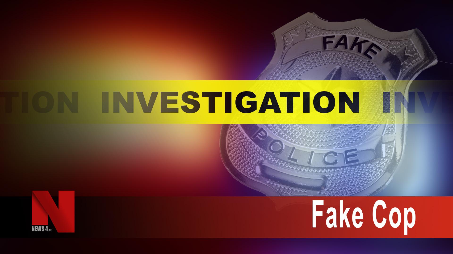 Fake Cop Investigation