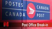 Canada Post Break-in