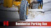 Residential Parking Ban