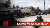 Search for snowmobiler