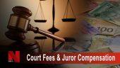 Court fees & Juror Compensation