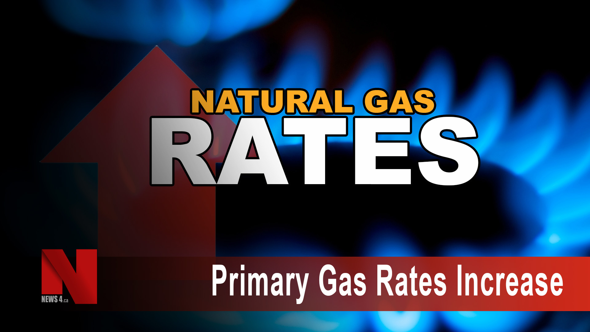 Primary gas rates increase