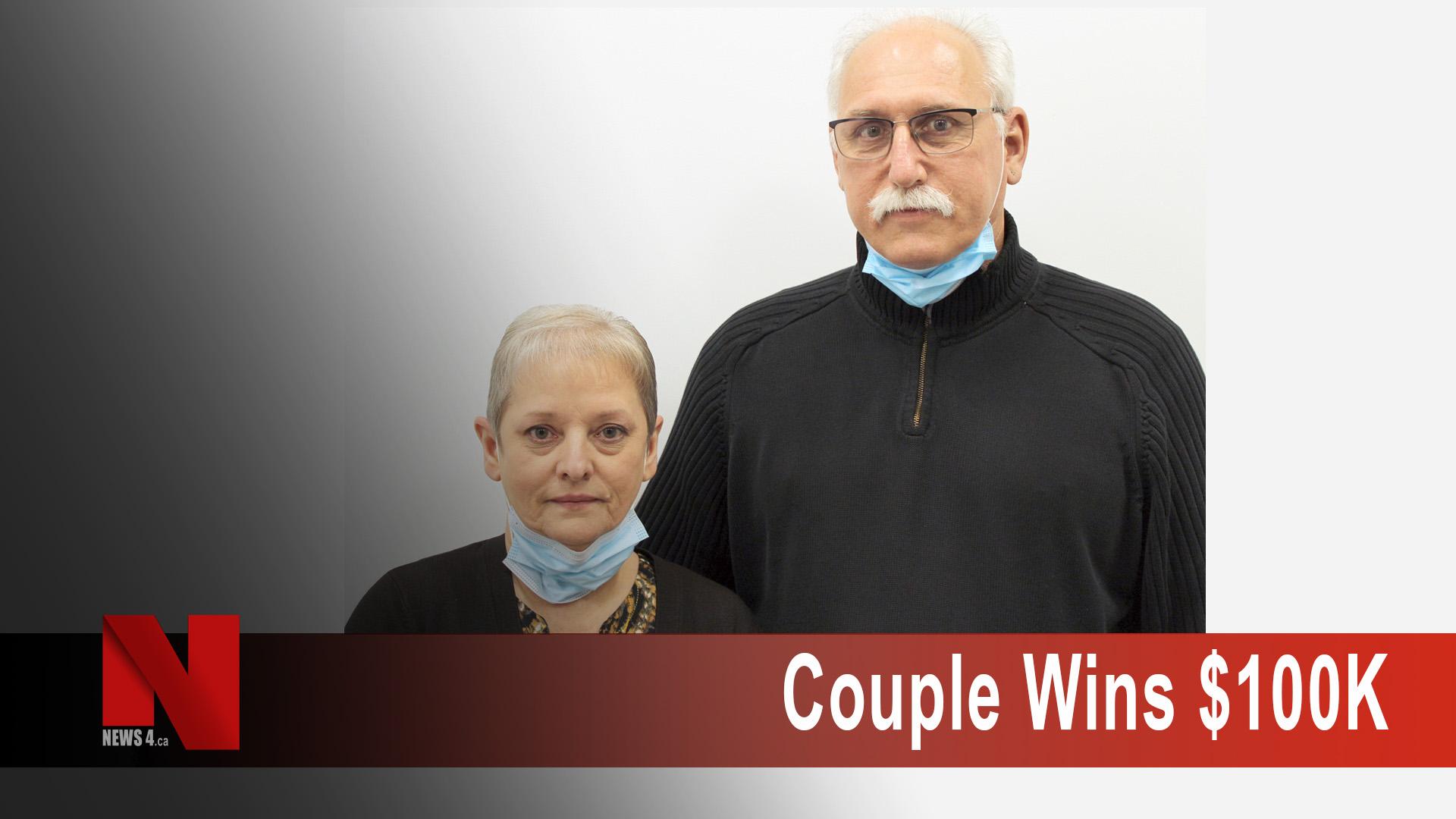Couple Wins 100K