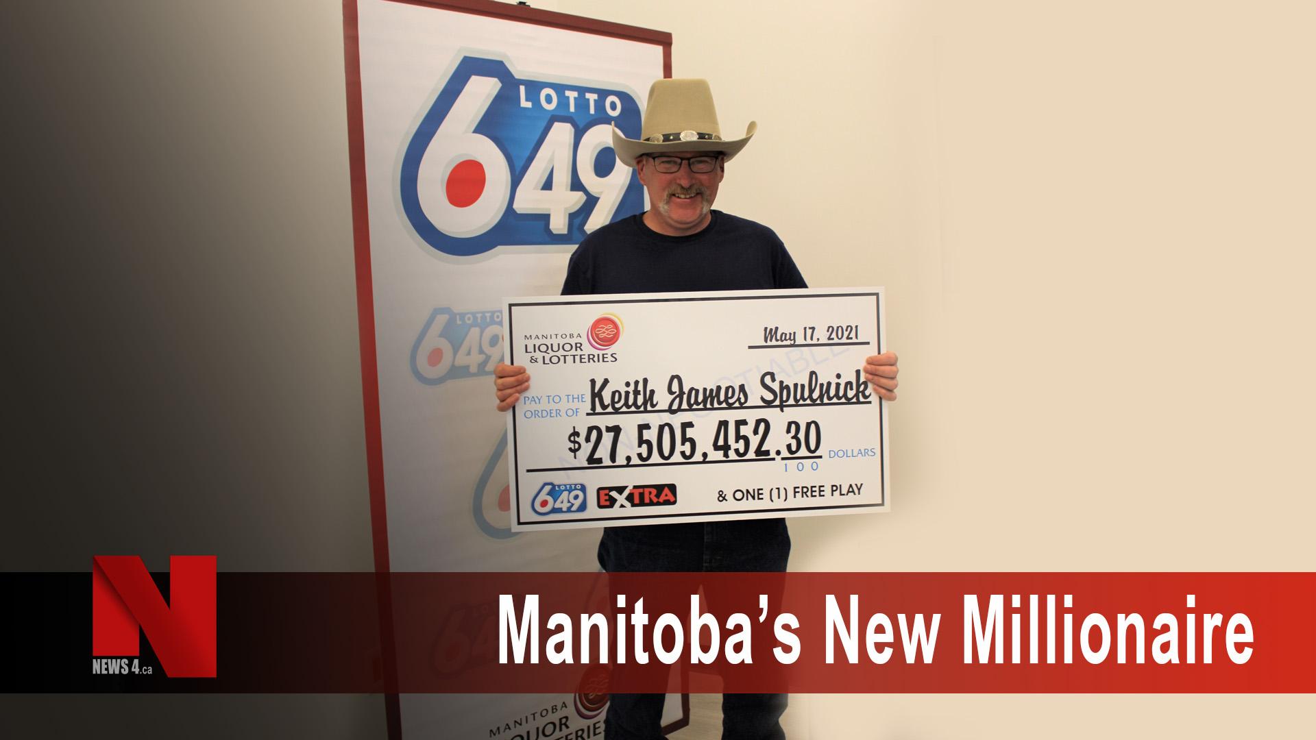 Manitoba's new millionaire