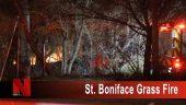St. Boniface grass fire