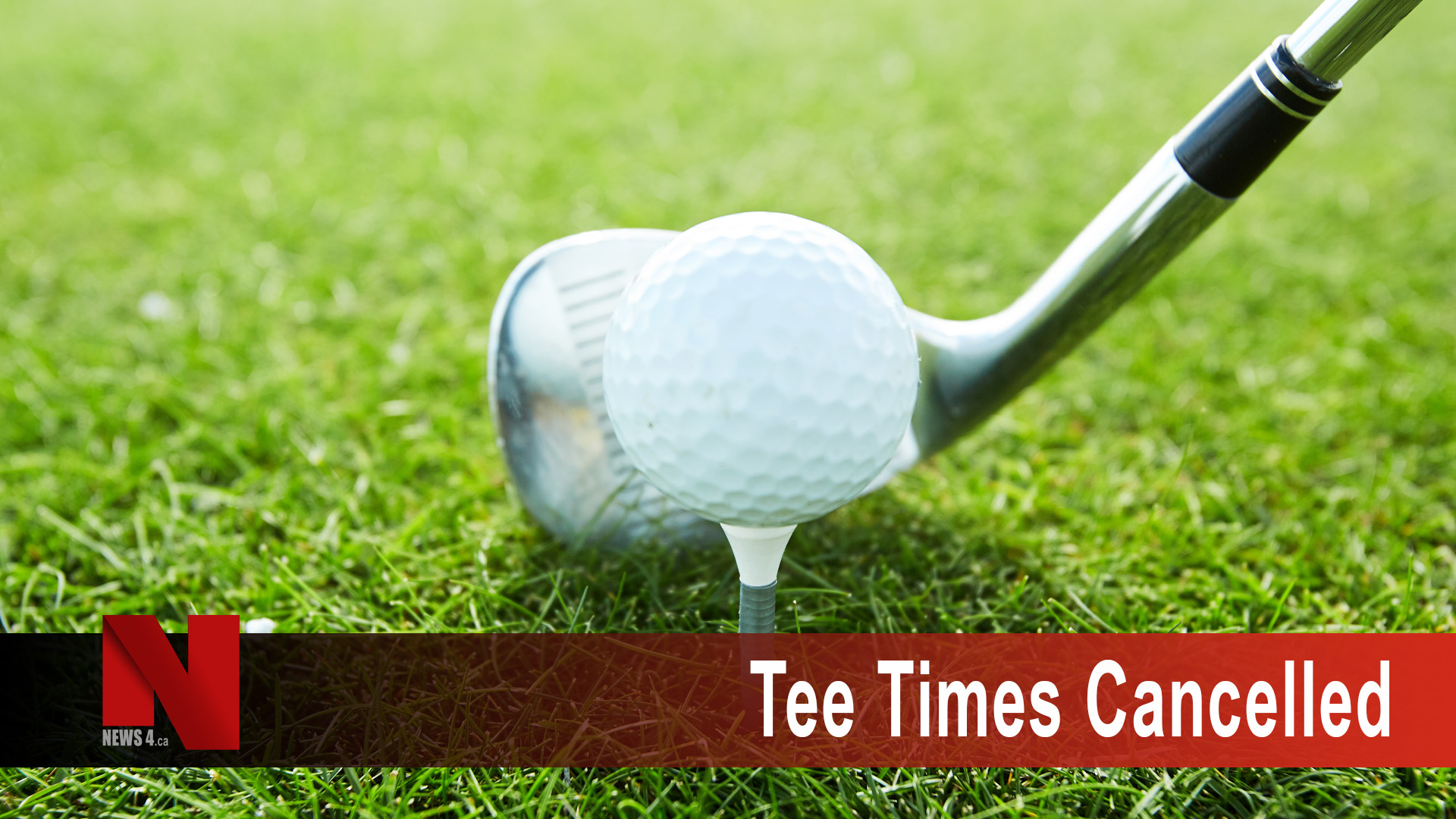 Tee-Time cancelled