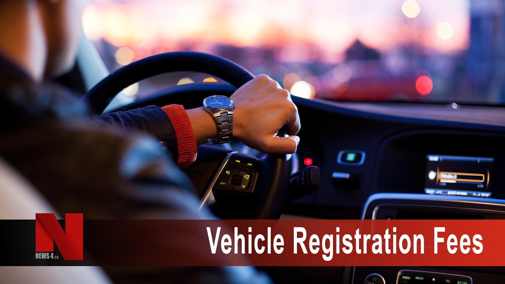 Vehicle Registration Fees