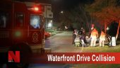Waterfront Drive Collision