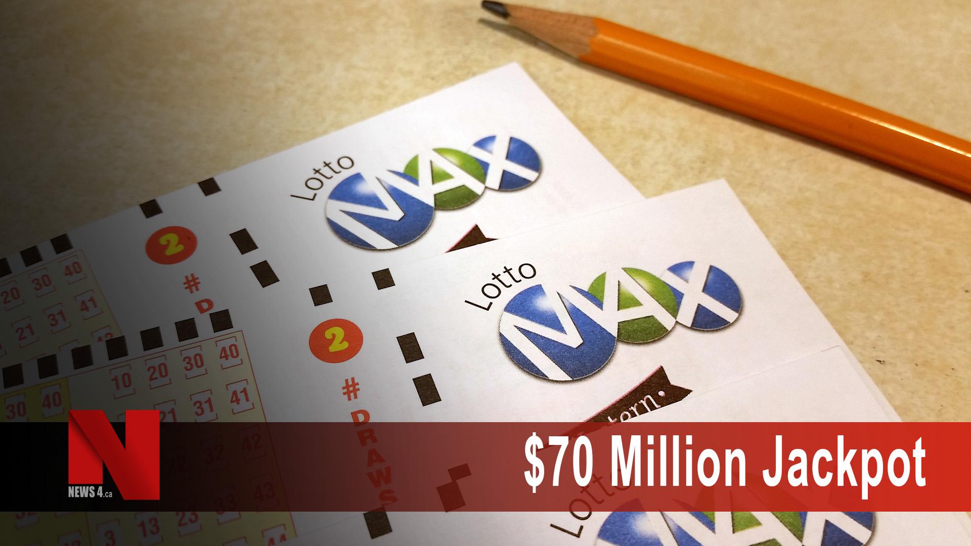 $70 million jackpot