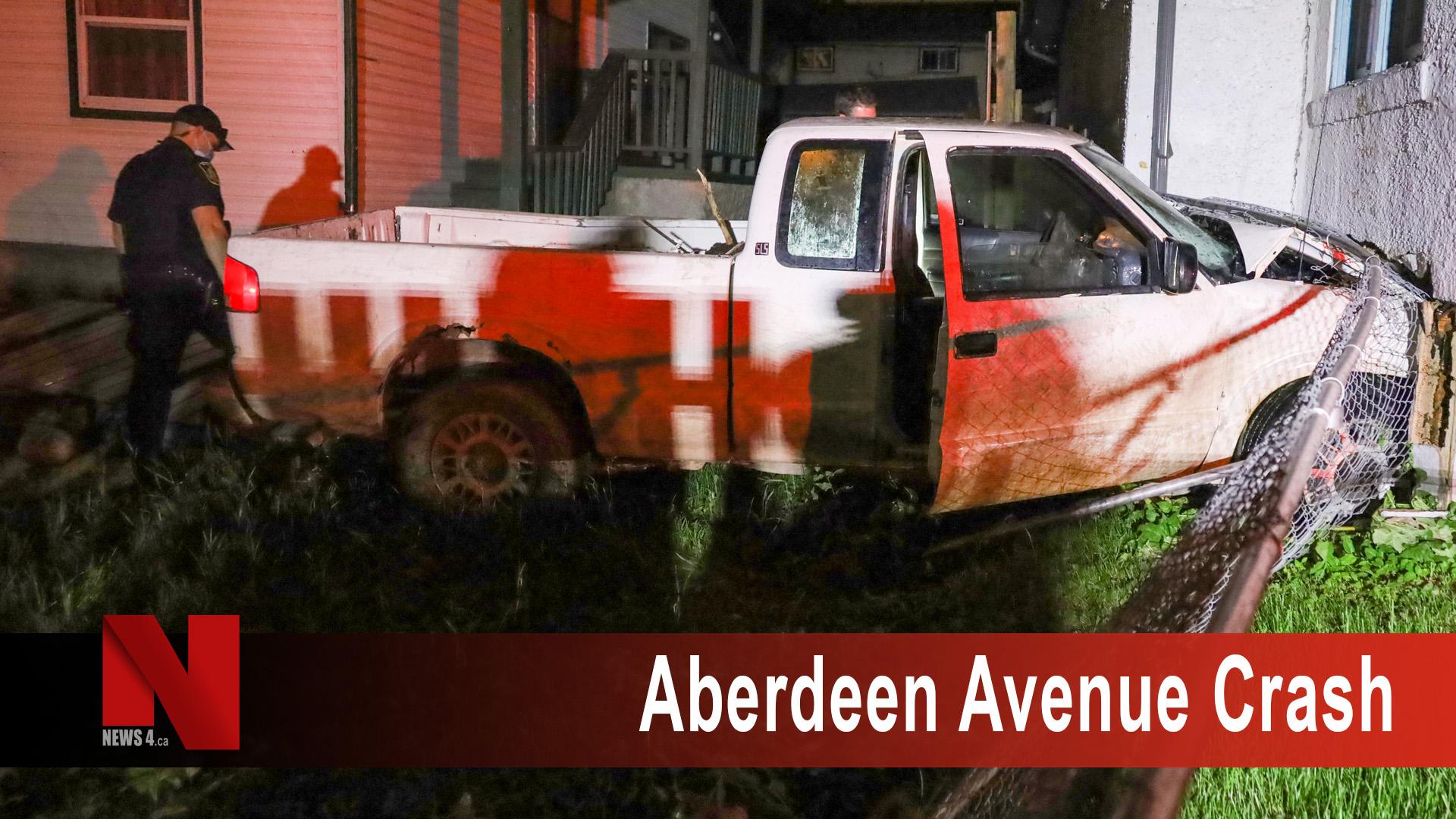 Aberdeen Avenue Crash