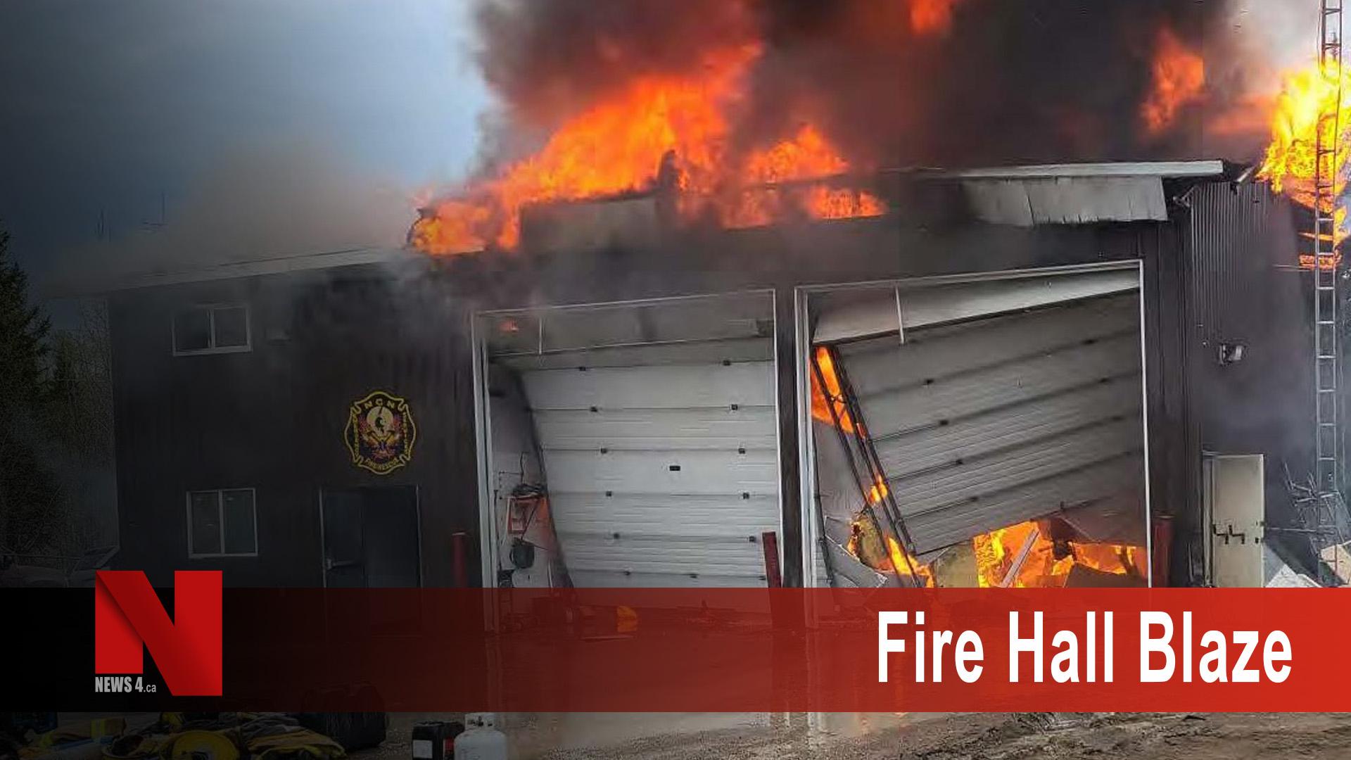 Fire hall Blaze
