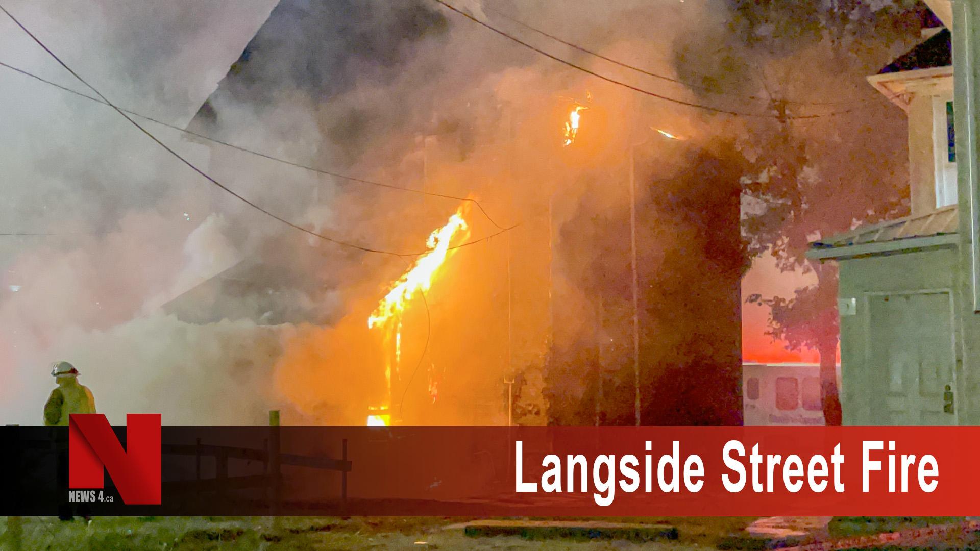 Langside Street Fire