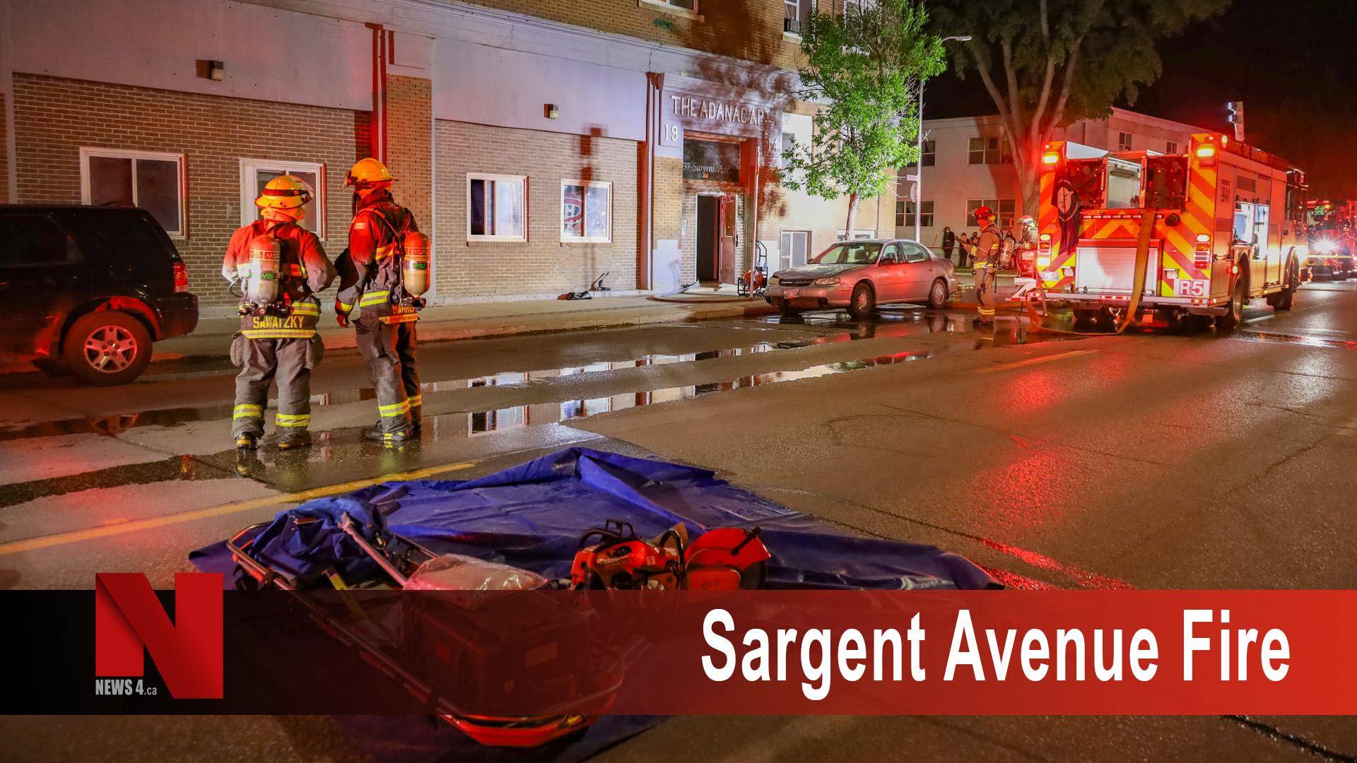 Sargent Avenue Fire