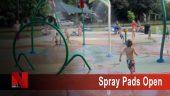 Spray Pads open
