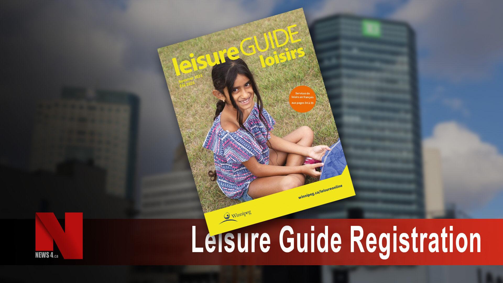 Leisure Guide Registration