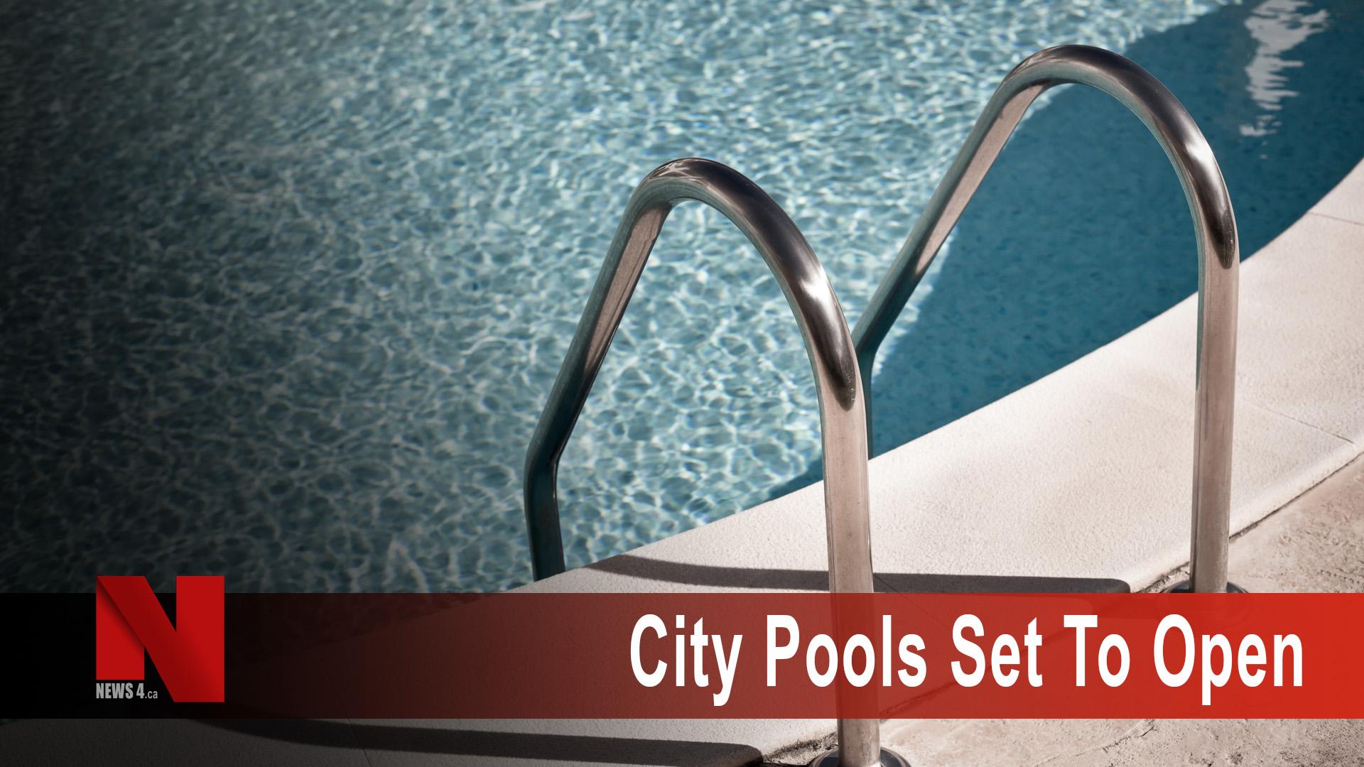 pools set to open