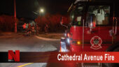Cathedral Avenue Fire