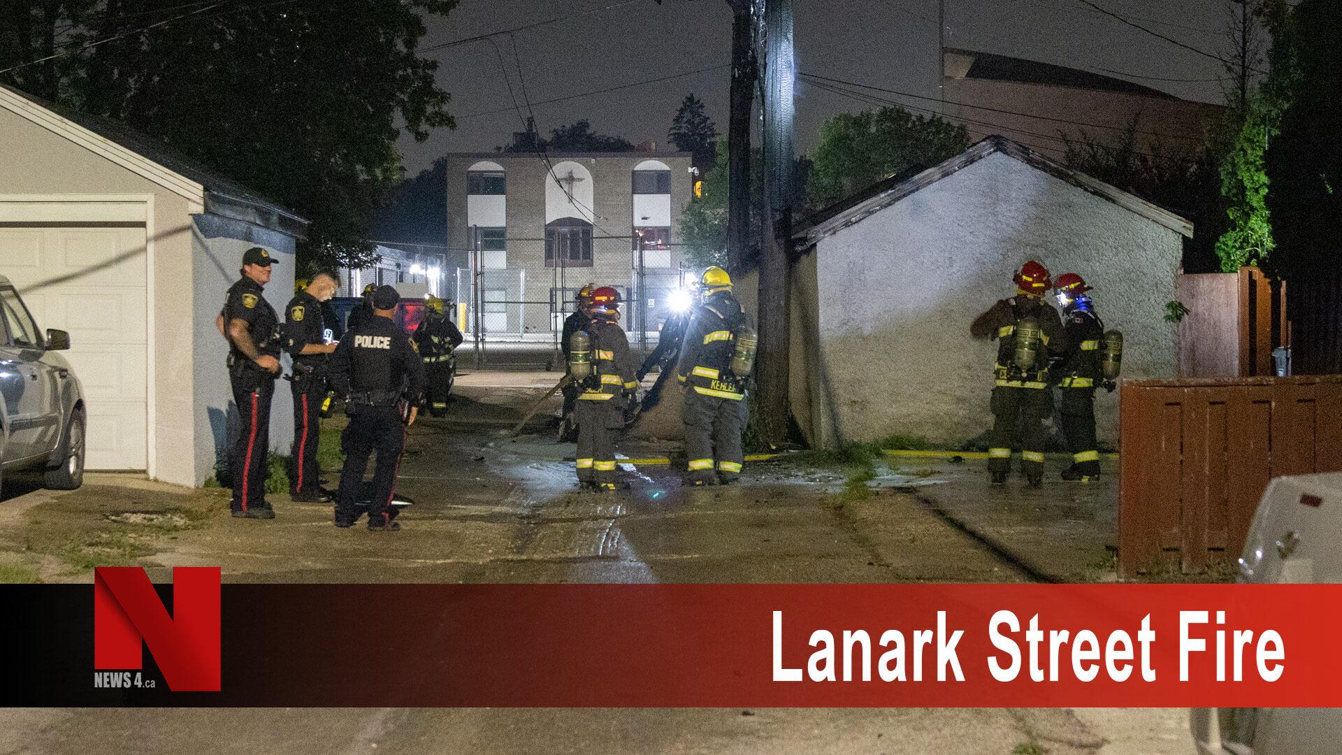 Lanark Street Fire