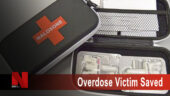 Overdose victim saved