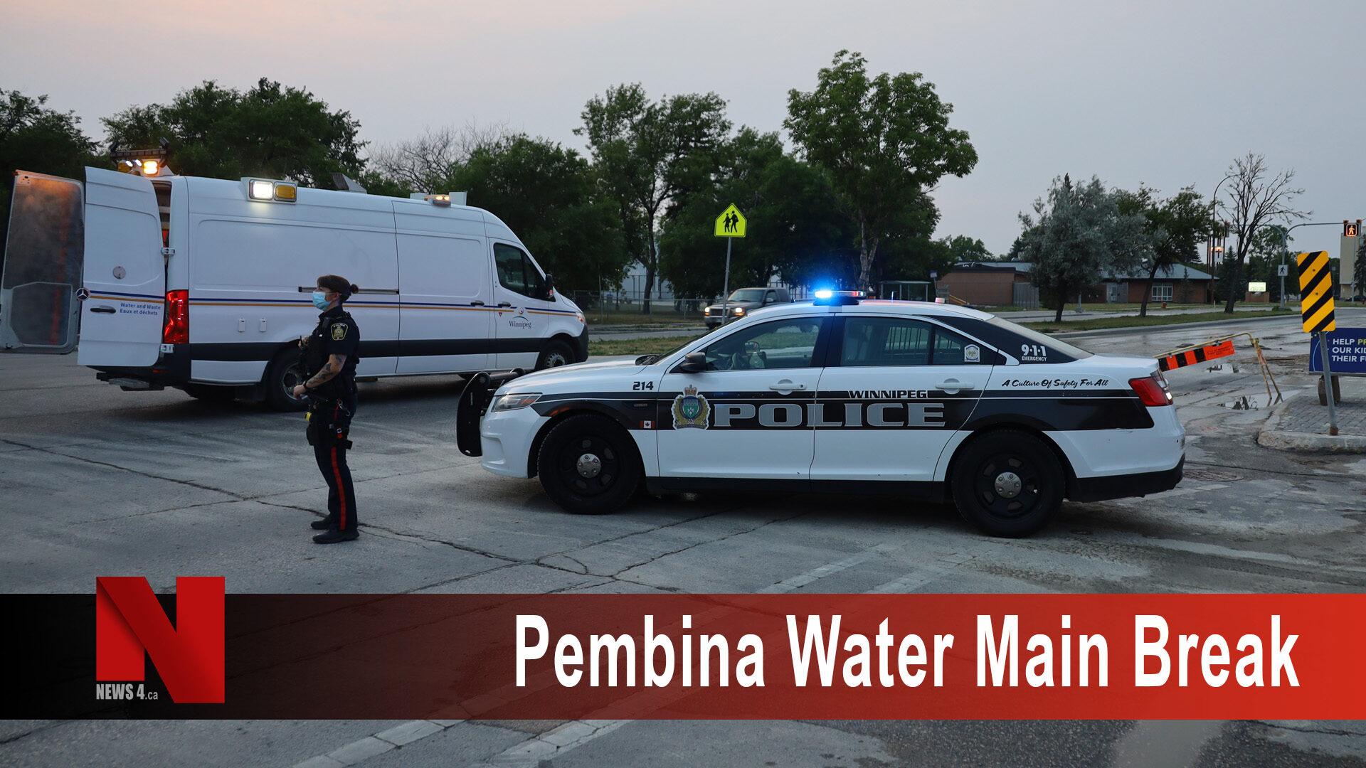 Pembina Water Main Break