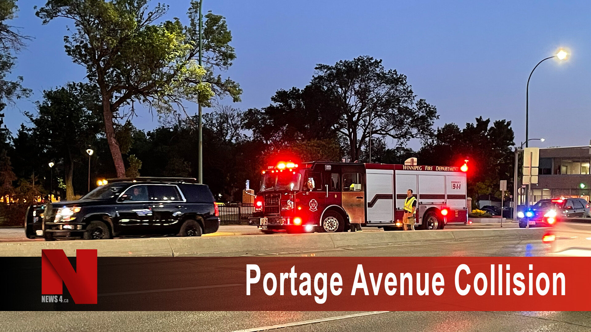 Portage Avenue Collision