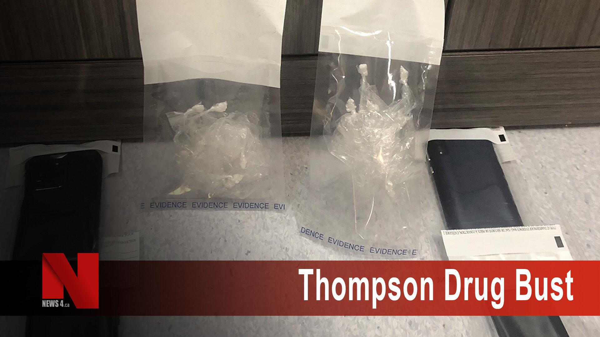Thompson drug bust