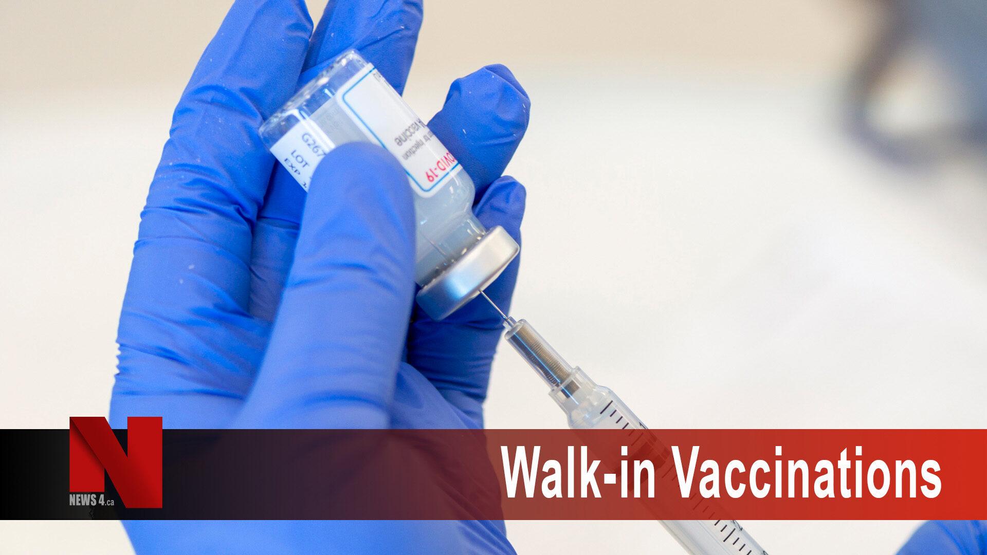 Walk-in Vaccinations