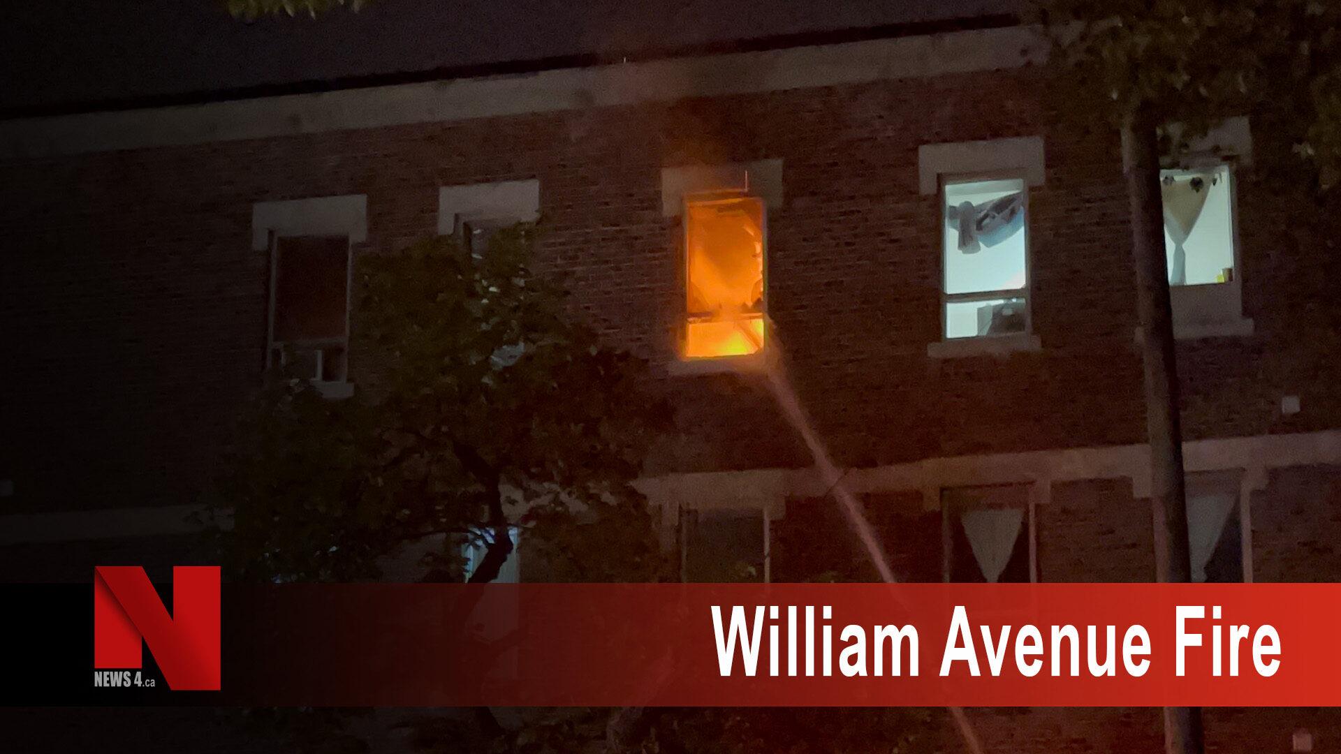 William Avenue Fire