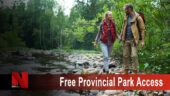 free provincial park access