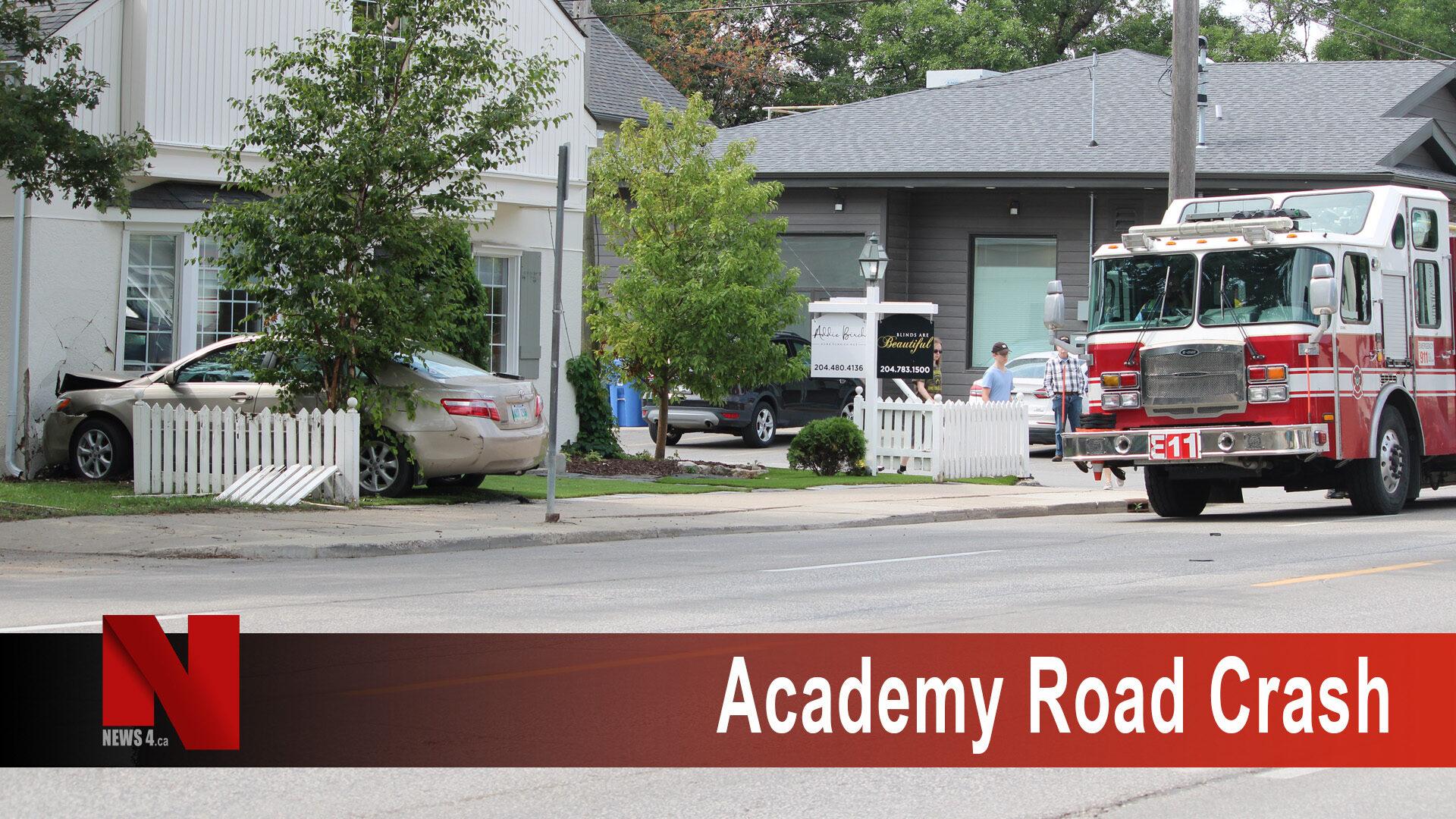 Academy Road Crash