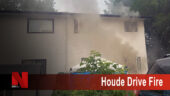 Houde Drive Fire