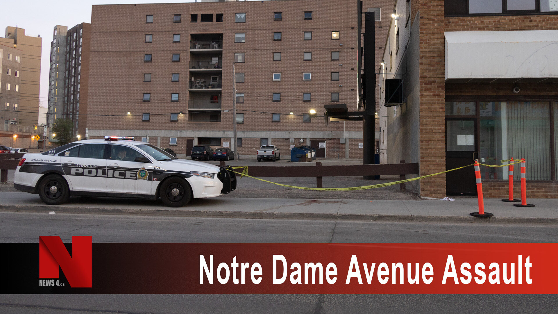 Notre Dame Avenue Assault