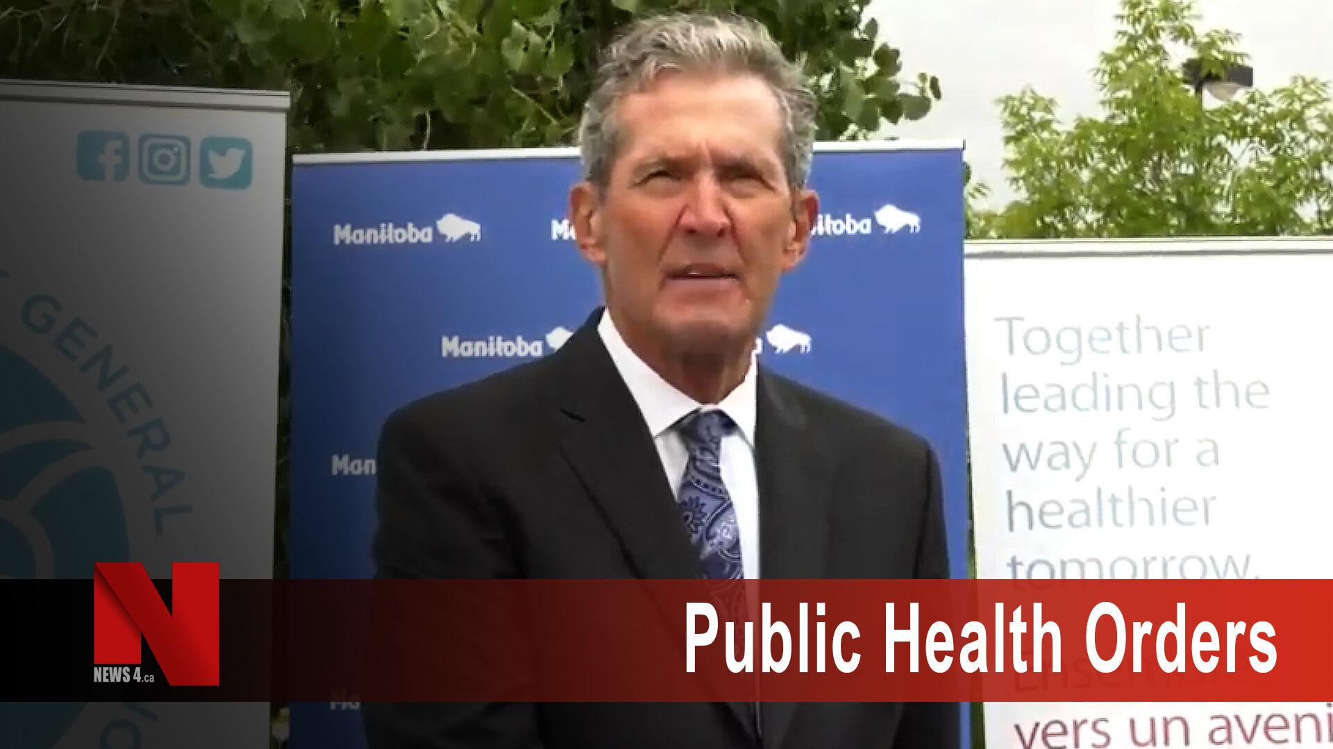 Public health orders