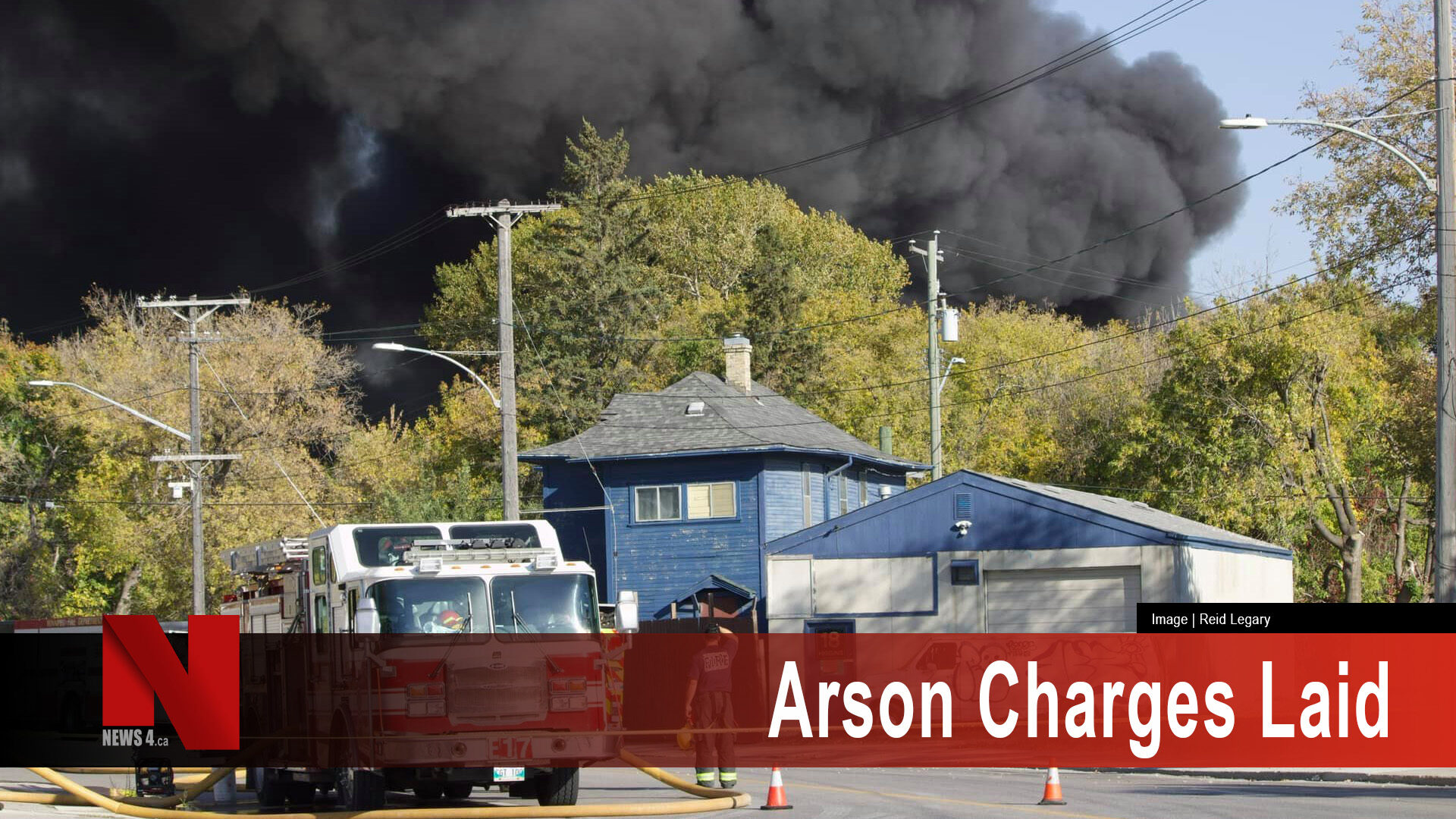 Arson charges laid