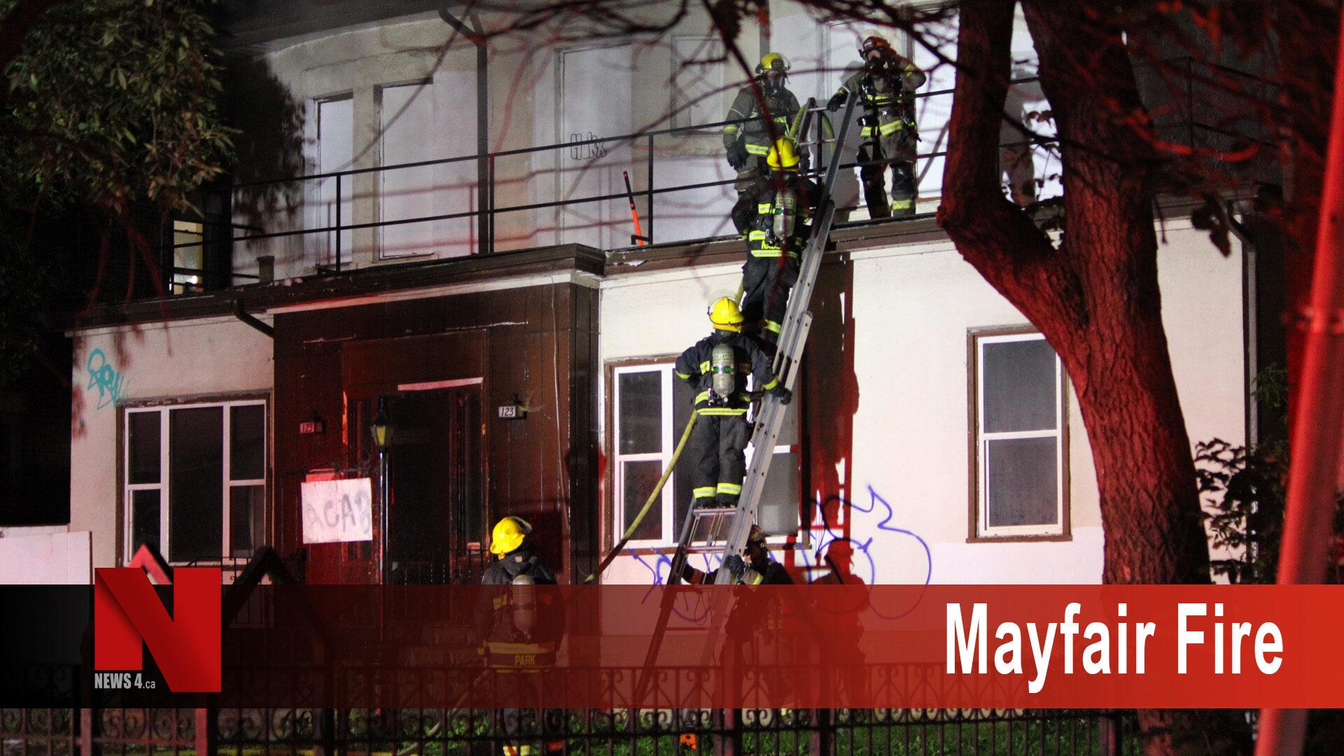 Mayfair Fire