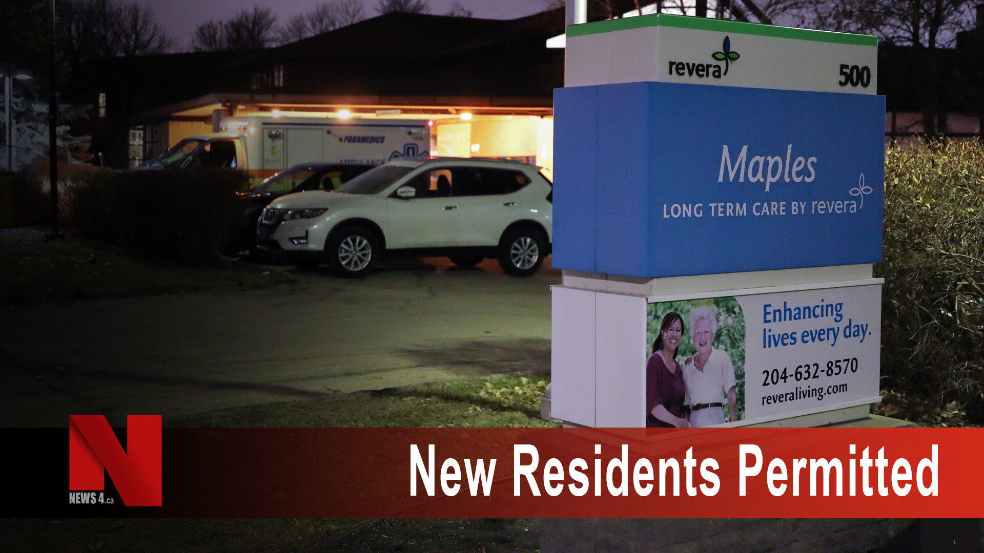 New residents permitted