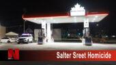 Salter Street Homicide