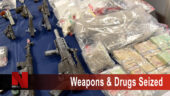Weapons and Drugs Seized