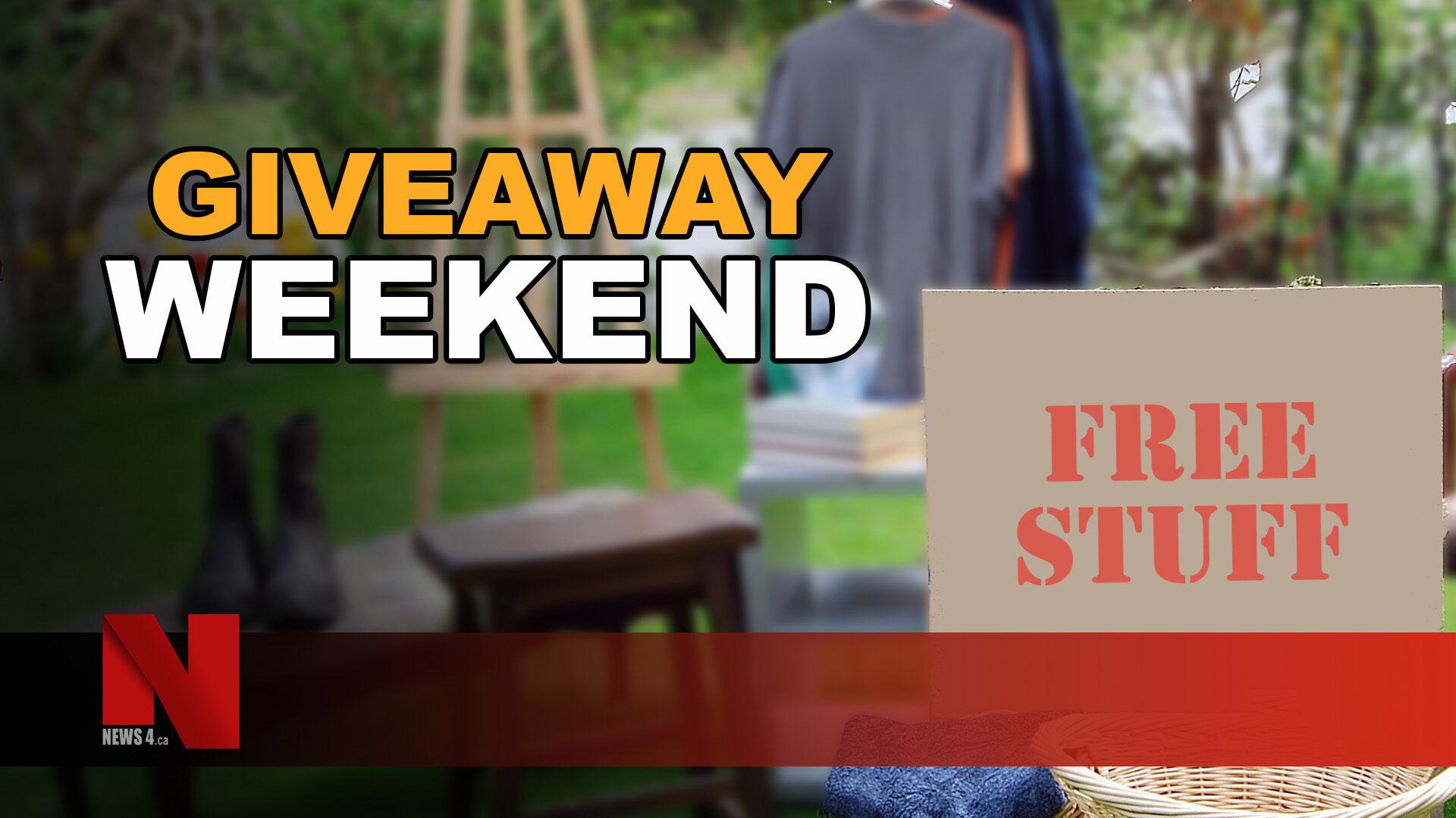 giveaway weekend