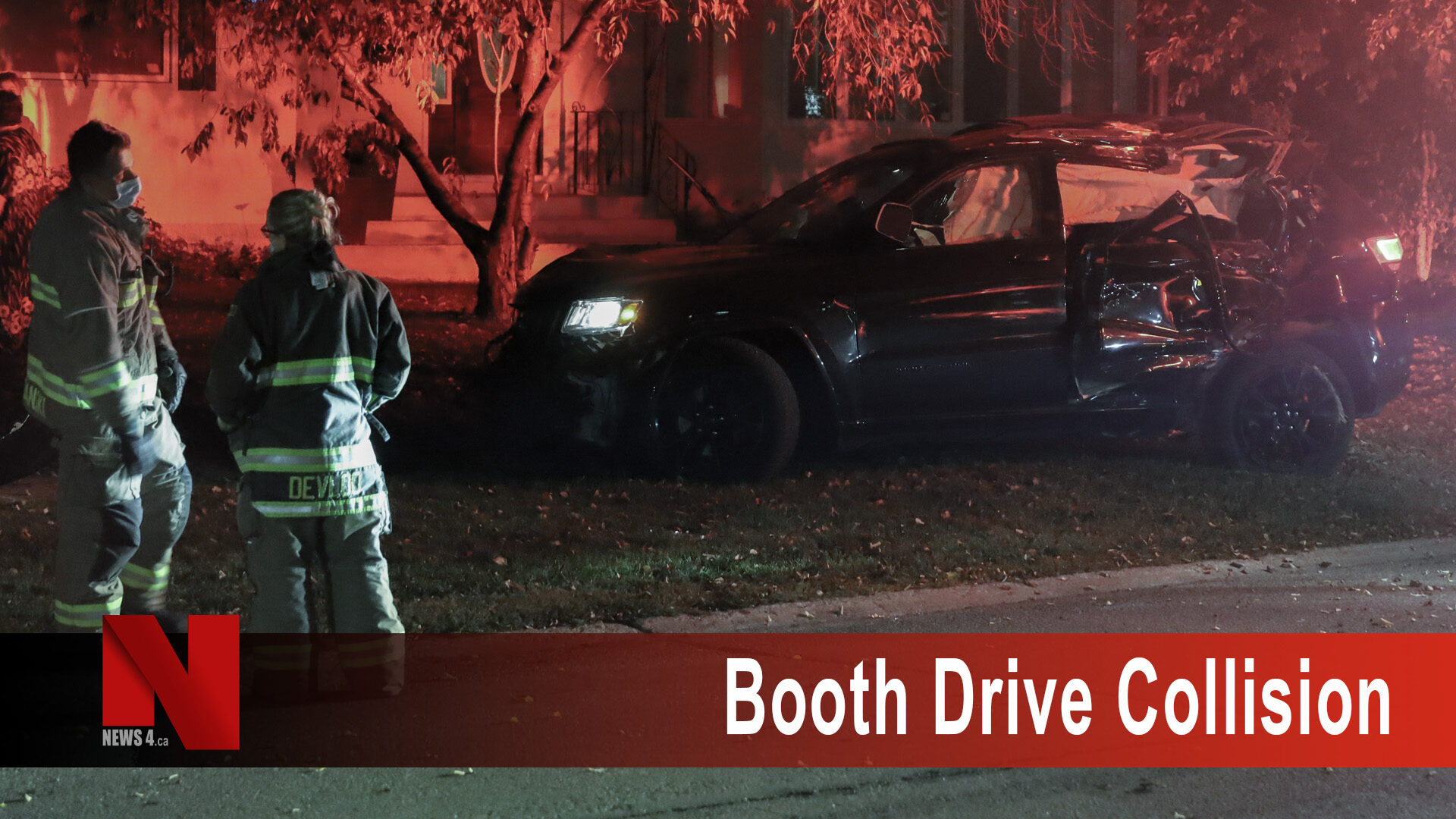 Booth Drive Collision