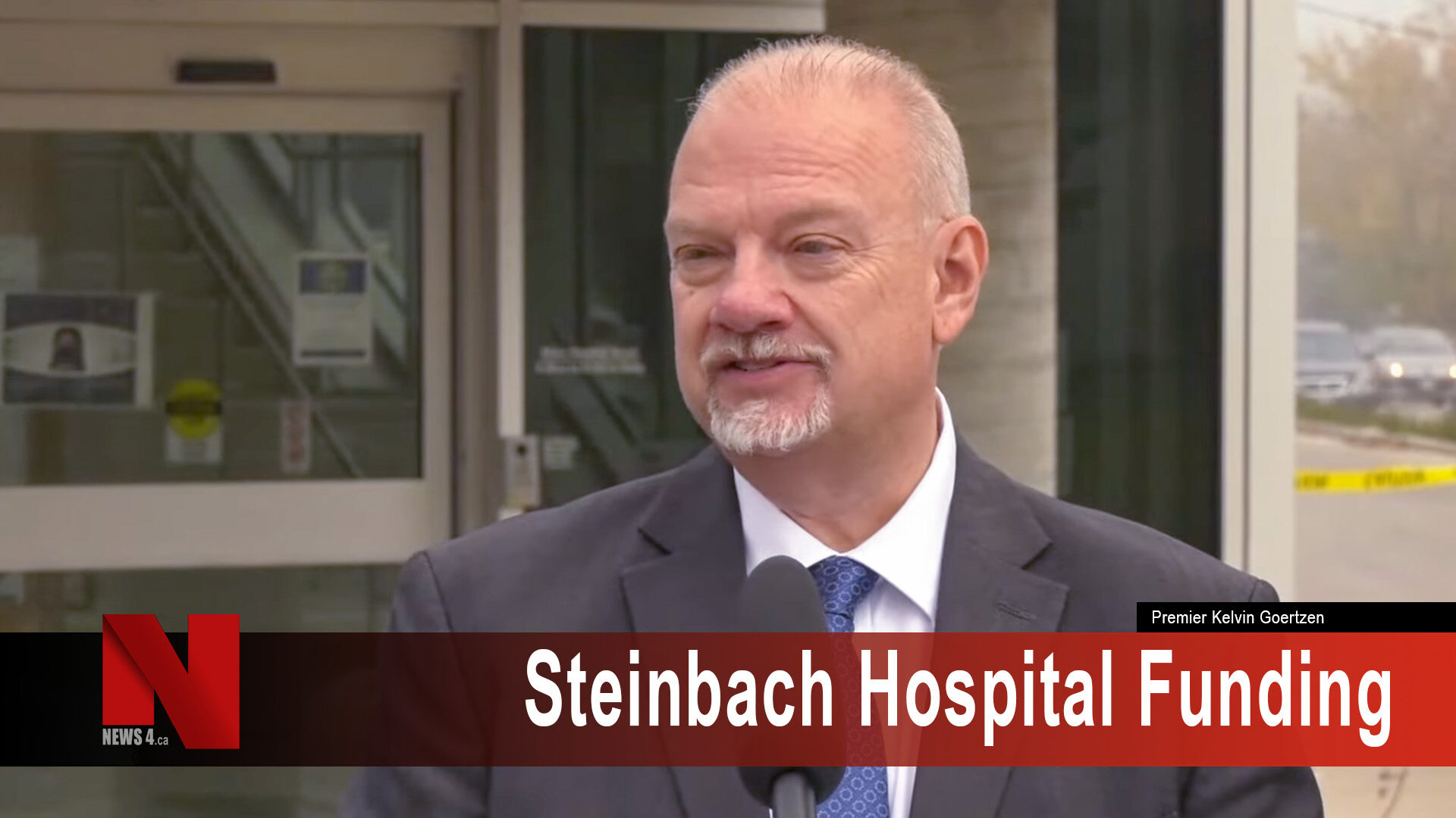 Steinbach Hospital Funding