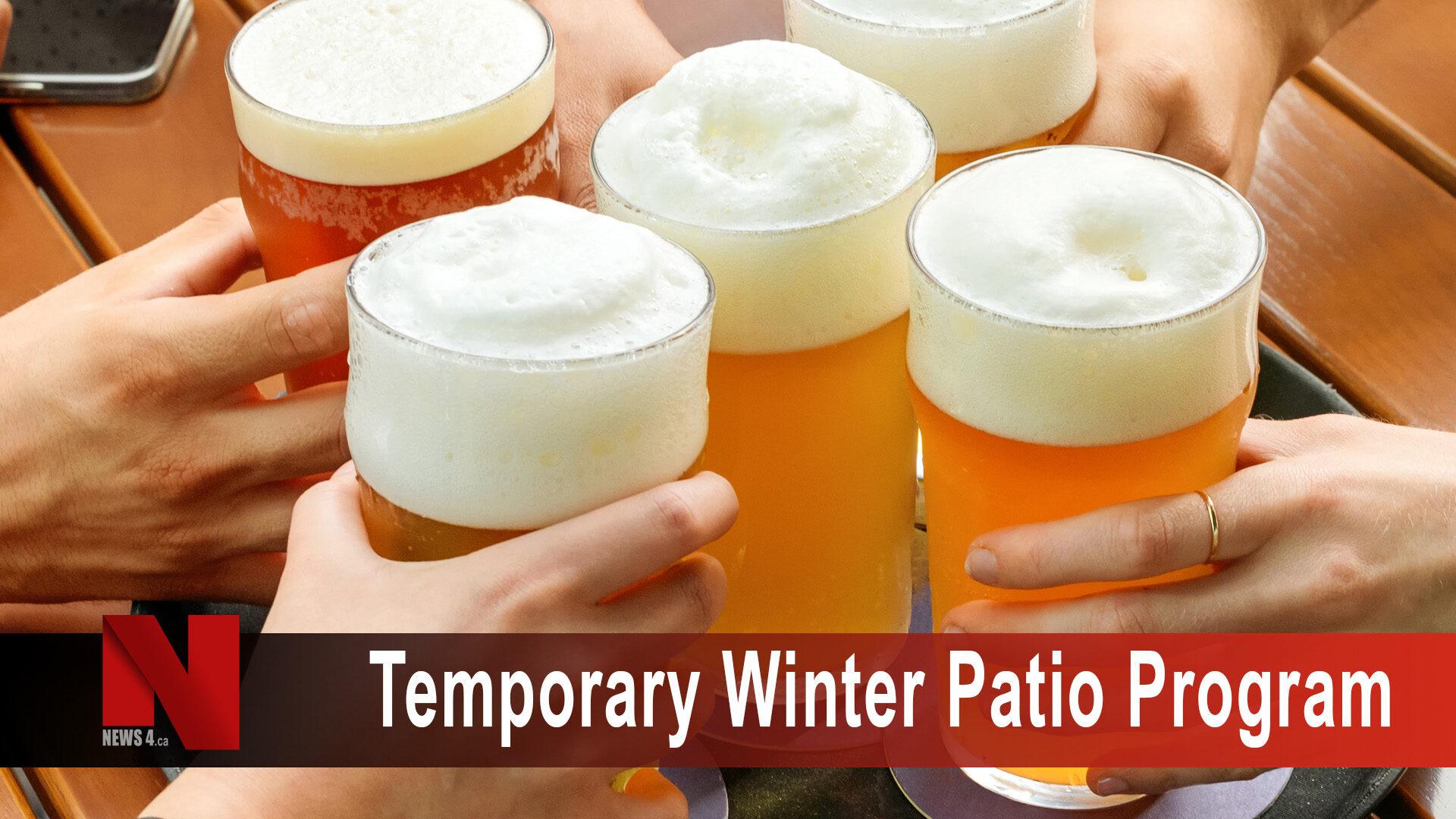 Temporary Patio Program